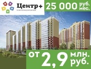 ЖК «Центр Плюс». Квартира за 25000 руб/мес! Квартиры в г. Железнодорожный от 2,9 млн